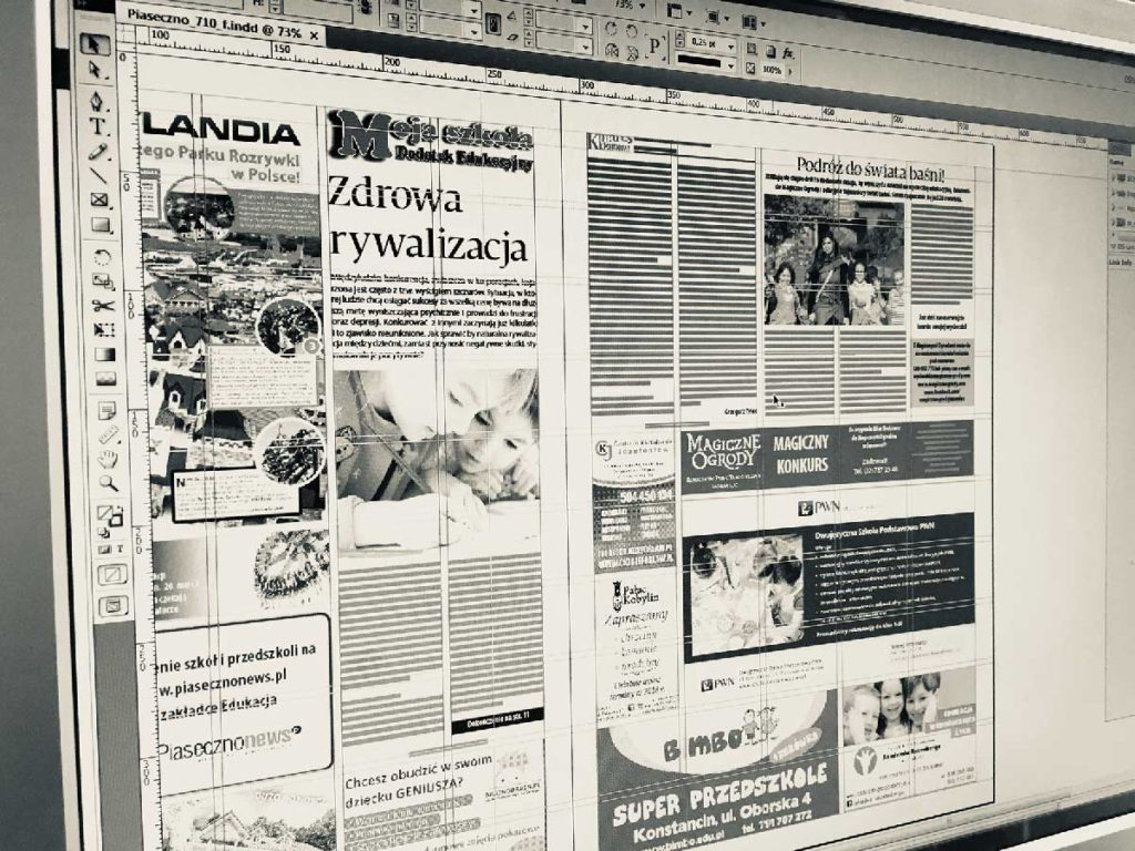 oferta projektowanie graficzne, warszawa, piaseczno, galia.net.pl