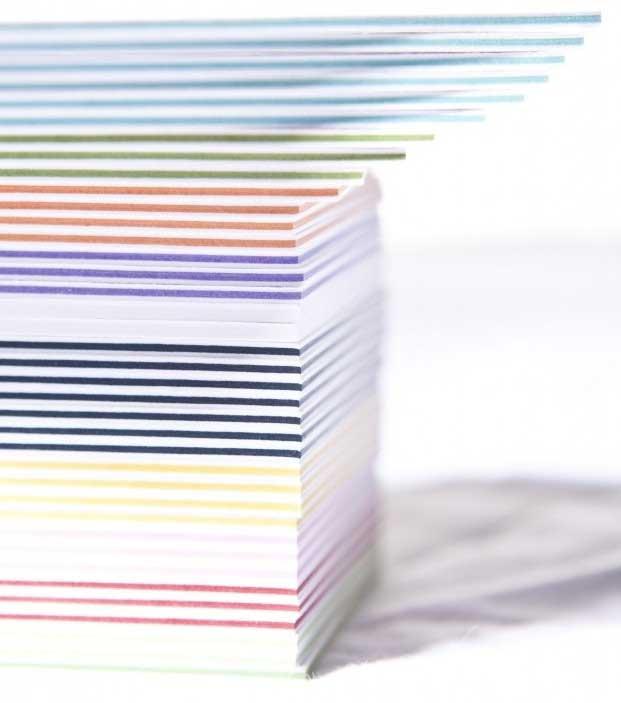 Papier Multiloft, druk wizytówek, zaproszeń, kar menu do 1200 gramów.  galia.net.pl