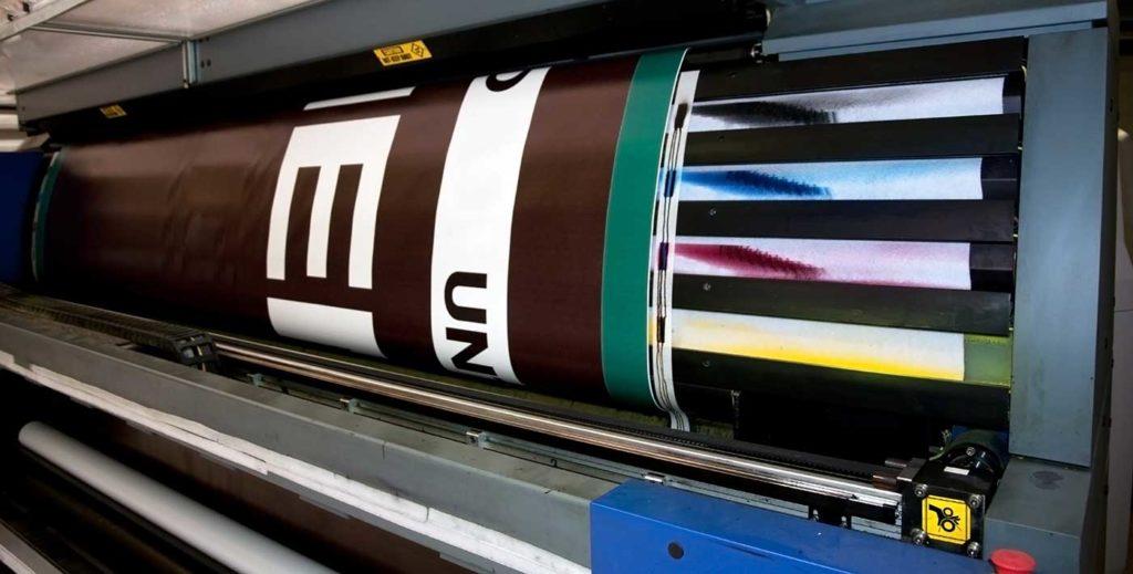 Druk banerów 320 cm szerokości piaseczno warszawa www.galia.net.pl zgrzewanie oczkowanie frontlit laminowany powlekany