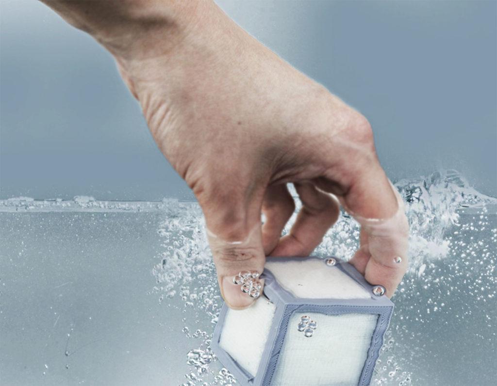 Materiał podporowy rozpuszczalny w wodzie. Drukarnia Piaseczno