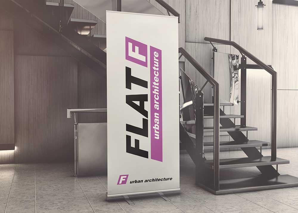 Rollup druk lateksowy piaseczno warszawa 85 cm 100 cm 120 cm projekt druk dostawa